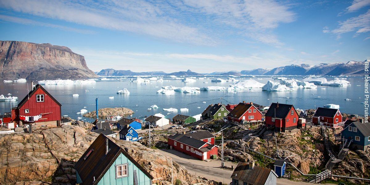 Naturwunder Grönlands und Island